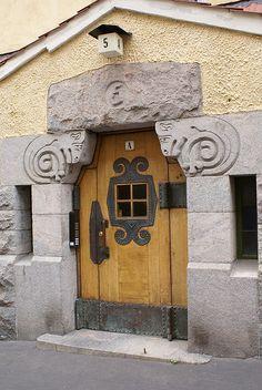 Helsinki, Finland door.