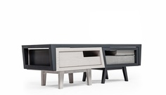 Modular Coffee Table, Armchair & Side Table Design by Daniel Pearlman - Furniture Design Blog - Furniture Design Ideas | Furniii