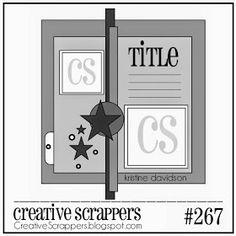Creative Scrappers: CS Sketch 267   Revealed
