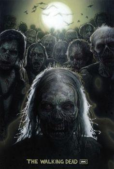 Drew Struzan's Movie Poster for The Walking Dead