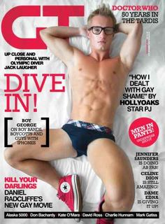 Gay Times - Jack Laugher December 2013