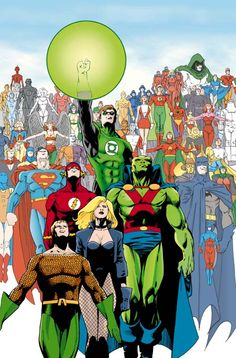 Justice League of America by Barry Kitson