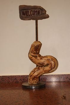 Upcycled Crafts, Wood Steel, Home Decor Accessories, Sculptures, Stones