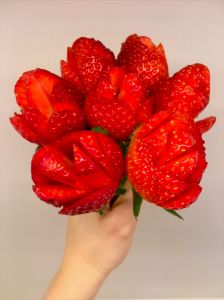Strawberry Roses Tutorial