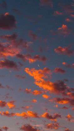 Crescent moon in the night Crescent moon in the nightYou can find Fondos de pantalla iphone and more on our website.Crescent moon in the night Crescent moon in the night Wallpaper Pastel, Cloud Wallpaper, Sunset Wallpaper, Iphone Background Wallpaper, Aesthetic Pastel Wallpaper, Aesthetic Backgrounds, Aesthetic Wallpapers, Wallpaper Quotes, Wallpaper Desktop