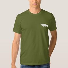 Largemouth Bass in Silhouette T Shirt