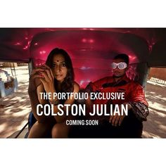 Here's a sneak peak of our exclusive story with @colston JULIAN.  Model: @Monica Dogra