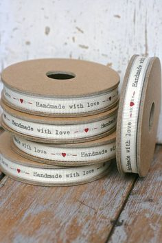 East of India /'Merry Christmas/' Ribbon Red White Edging Narrow 3m Craft Xmas