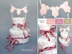 Stampin'Up! by Djudi'Scrap - Baby Shower – Gâteau de Couches « Set Something For Baby »