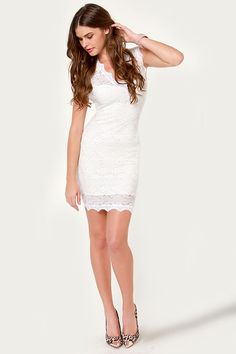 short white dress...for wedding related festivities