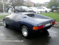 1984 Isdera Imperator 108 I (Molsheim) | 30 exemplars produced during 1984-1993