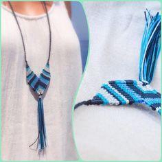 Macrame Earrings, Macrame Jewelry, Tassel Necklace, Macrame Design, Micro Macrame, Bling Bling, Friendship Bracelets, Knots, Jewelry Making