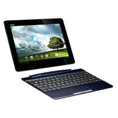 Asus TF300T 10.1-inch Multitouch Tablet with Keyboard (Blue) (Nvidia Tegra 3 1.4GHz, 1GB RAM, 32GB HDD, WLAN, BT, 2x Cam, Android 4.0)