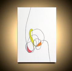 Original Abstract Painting Modern Contemporary by LenDickson