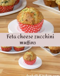 Incredible Recipes, Great Recipes, Healthy Recipes, Best Breakfast Recipes, Brunch Recipes, Zucchini Muffins, Savory Muffins, Savoury Baking, International Recipes