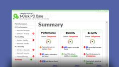 Wondershare 1-Click PC Care enables you tune up your PC  and fix PC problems on your own with just 1 click., $49.95