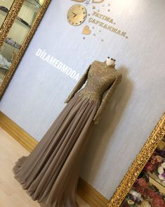 Isn't that elegant? Gelinba the # # # gelinsac the bride dress # # # turban hijab … – Wedding Dresses Hijab Prom Dress, Hijab Gown, Muslimah Wedding Dress, Hijab Evening Dress, Hijab Bride, Muslim Dress, Event Dresses, Bridal Dresses, Nice Dresses