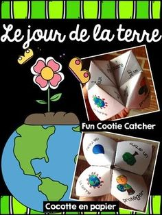 Your students will love doing this activity for Earth Day! It can also be used for you Science unit on the environment. Practises language and literacy! Please download preview to see all questions included. Other Cootie Catchers for other grades will be available in my store.