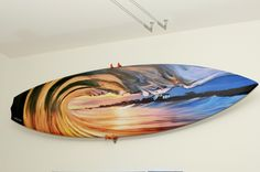 Painted Wave Surfboard