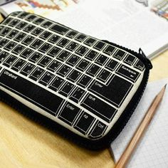 Retro Keyboard Pencil Pouch /// I actually love any pencil case and everything on this site. If you would like to surprise me :P