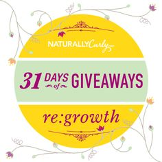 I just entered NaturallyCurly's Spring Growth Giveaway  to win some amazing curly hair prizes on NaturallyCurly.com! You should enter too. It's easy, click here: http://www.naturallycurly.com/giveaways/NaturallyCurly-Spring-Growth-Giveaway/st/531461d2e620a2.60782887