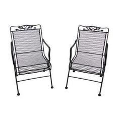 Arlington House Glenbrook Chocolate Brown Patio Action Chair 2 Pack 7871700