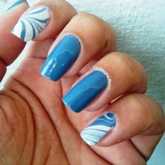 Tutorial Water Marble Nails (sem sujeira) com Esmalte 'Click, Bella Brazil - :: Diva Todo Dia ::