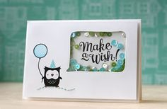Mama Elephant April Challenge - card by Laura Bassen
