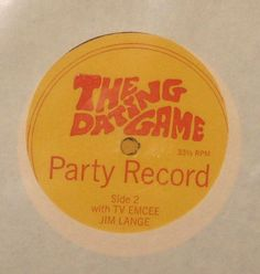 The Dating Game 1968 PARTY PAK w/ 7 Record by ABC Complete And STILL SEALED [44450] - $299.99 : Vinyl Frontier Music, - Rare Records, CDs, posters, memorabilia, and more:, Vinyl Frontier Music, - Rare Records, CDs, posters, memorabilia, and more: