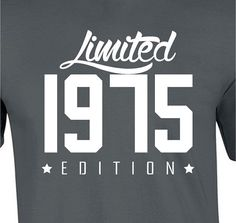 40th Birthday Gift For Men and Women - Limited 1976 Edition t shirt 40 Years…