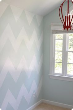 I want to paint a wall with this pattern.. Not sure how I could tape it off that would not be to difficult.