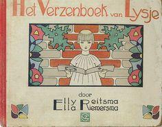 Ella Riemersma Verzenboek van Lysje 1928 cover