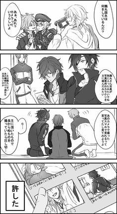 【刀剣乱舞】主にカメラを買ってもらった鶴丸国永【漫画】