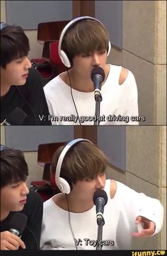 [BTS meme] V : I'm good at driving, u know! | Just meme, laugh and don't take it seriously.