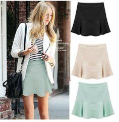 Femininas 2014 New Summer new star models wild chiffon flounced skirts womens saia curta elastic waist falbala high quality $14.88