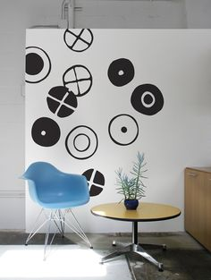 Stickers Circles par Charles & Ray EAMES