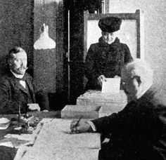 March 15, 1907: FIRST PARLIAMENTARY ELECTION IN FINLAND - Finland holds first parliamentary election under 'universal suffrage', thereby electing nineteen female MPs to Parliament.