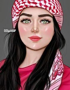 Cartoon Girl Images, Cute Cartoon Girl, Cute Girl Face, Beautiful Girl Drawing, Cute Girl Drawing, Anime Cosplay Girls, Anime Girls, Girly M, Cute Couple Wallpaper