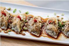 Savor Asian flavors at Gozsdu Udvar's Sáo哨 Pork, Lunch, Asian, Dumplings, Budapest, Beats, Travel, Kale Stir Fry, Viajes