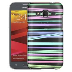 Samsung Galaxy Core Prime Neon Stripes Case