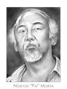 Noriyuki Pat Morita by gregchapin on deviantART ~ artist Greg Joens