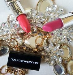 We Live For Glamour. . Feeling Pretty Giving Life!  The Lip Collection www.takiemoto.com
