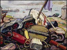 Arthur Lismer, 'Maritime Still Life, Cape Breton' at Mayberry Fine Art 12 x 16 (1946)