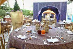 Our Grand Ballroom Terrace has been transformed into a Ramadan wonderland with a themed décor.