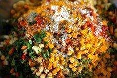 Tunisian Spinach Rice
