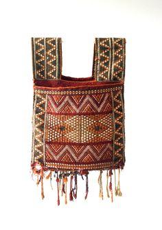 moroccan vintage saddle bag donkey bag camel bag by fairlyworn