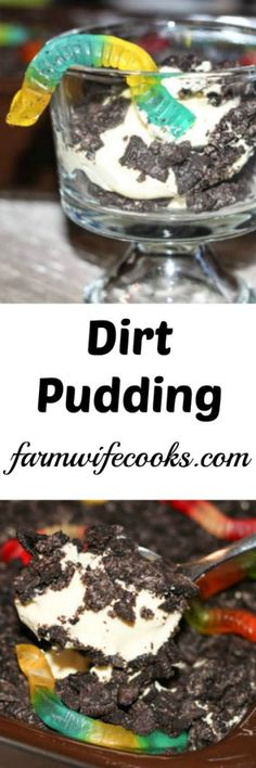 Are you looking for a kid-friendly dessert recipe? This Dirt Pudding recipe brings back childhood memories and will instantly put smiles on the faces of those you serve it too!