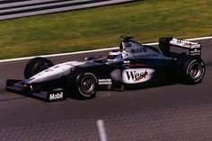 F-1-1999 Mika Hakkinen wins his 2nd drivers title in a row with McLaren