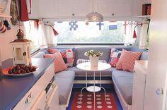 Another vintage camper interior