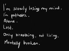lost and alones qoutes | quotes about being pathetic alone and lost - Google…